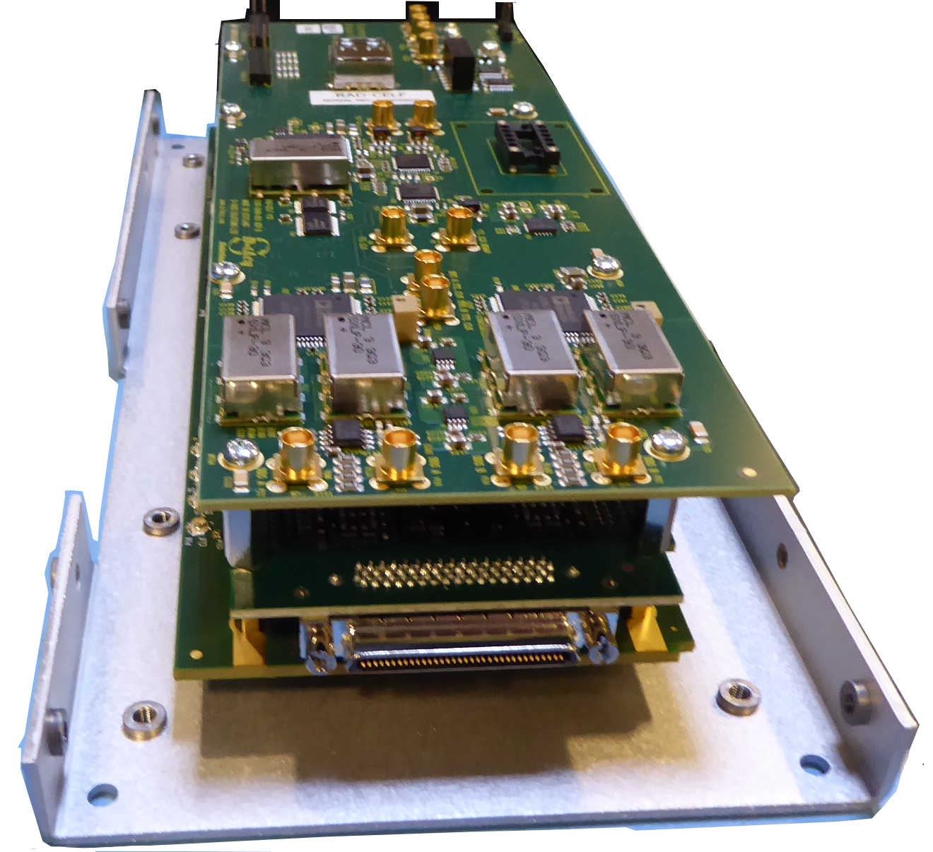 "OEM Stack with custom ""TOP LAYER"" module"